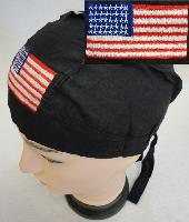 Embroidered Skull Cap [Flag]